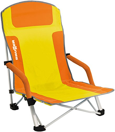 BRUNNER Bula Strandstuhl Orange/Gelb