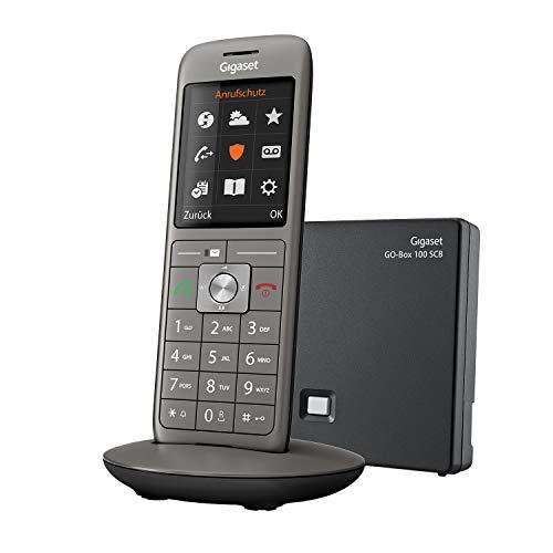 Gigaset CL690 SCB - Schnurloses Telefon mit Anrufbeantworter - intelligenter Schutz vor unerwünschten Anrufen - großes Farbdisplay - extragroßes Telefonbuch für 400 Kontakte
