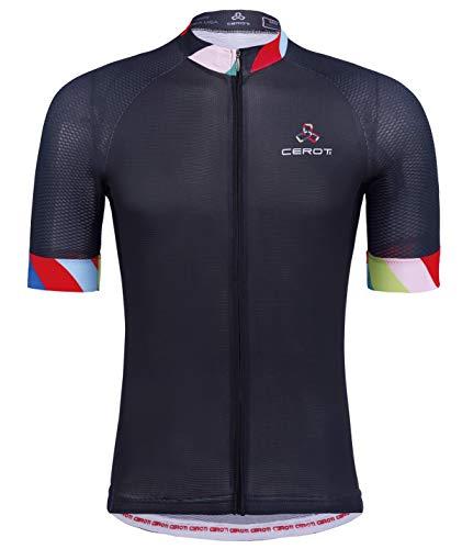 CEROTIPOLAR Custom Apparel Service Men's Cool Summer Cycling Jersey, Bike Jersey UPF50+