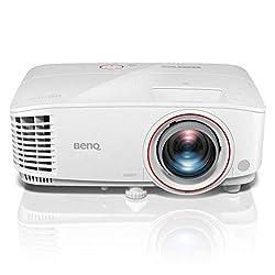BenQ TH530 DLP-Projektor (Full HD, 1920 x 1080 Pixel, 3.200 ANSI Lumen, HDMI, 10.000:1 Kontrast, 3D)
