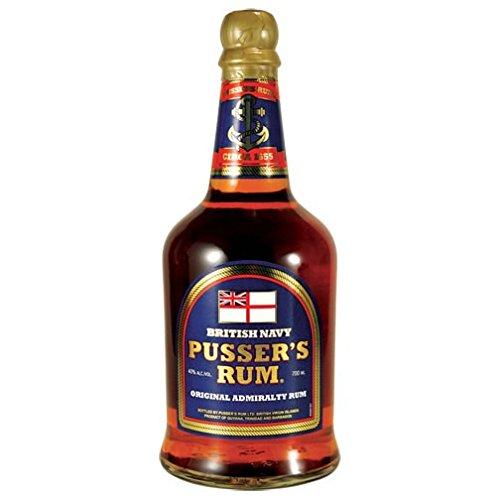 Pussers Blue Label 40% British Navy Rum 70cl Bottle