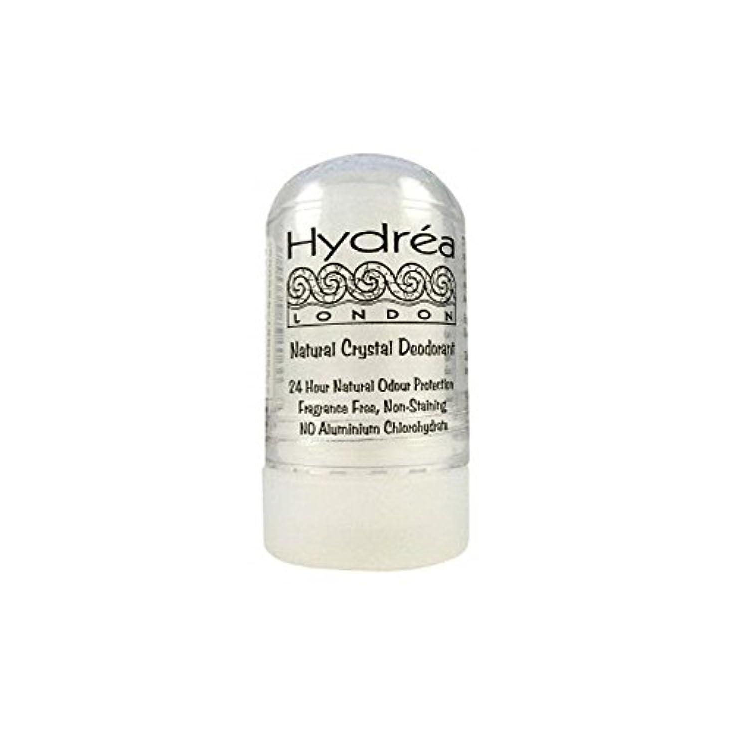長くする優れたボートHydrea London Natural Crystal Deodorant (60g) - ハイドレアロンドン天然水晶の消臭(60グラム) [並行輸入品]