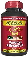 BioAstin Hawaiian Astaxanthin 4mg, 270 Count - Hawaiian GrownPremium Antioxidant - Supports Recovery from Exercise + Joint, Skin, Eye Health Naturally