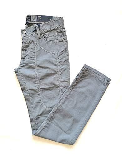 JECKERSON Pantaloni Heritage Slim Low microtexture 5 Tasche PA77 Blu Avio (31-45 it)