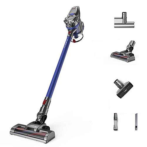 Best Price LAHappy Cordless Vacuum, Stick Vacuum Cleaner, 12000PA Powerful Lightweight 2 in 1 Handhe...