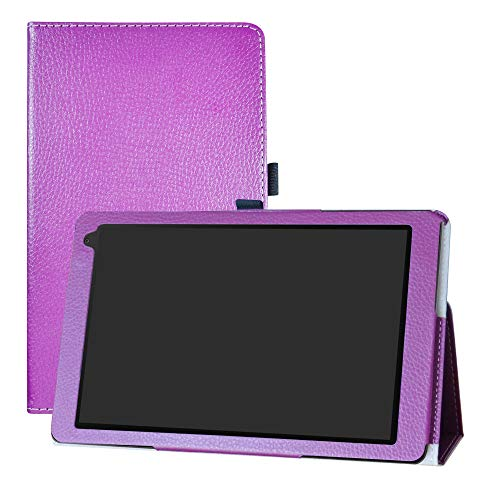LFDZ Medion Lifetab X10605 Hülle, Schutzhülle mit Hochwertiges PU Leder Tasche Hülle für 10.1