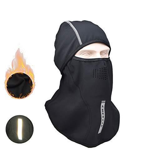 Madbike winddicht balaclava gezichtsmasker wintersport volledig masker Q206-1BK
