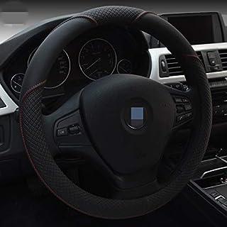 Shining wheat Coprivolante Nero Brillante in Similpelle per BMW Serie 3 E90 E91 E92 E93 2006-2011 320 318i 320i 325i 330i 320d X1