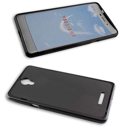 caseroxx TPU-Hülle für Coolpad Modena 2, Handy Hülle Tasche (TPU-Hülle in schwarz)