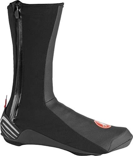 Castelli Ros 2 Shoecover, Copriscarpe Ciclismo Unisex – Adulto, Black, S