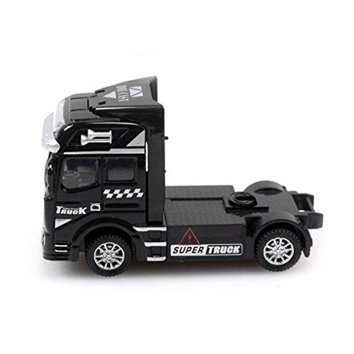 BXT® 1:50 Jouet Voiture Camion pour Enfants Véhicule Construction Toy Pelle Modèle de Voiture en Alliage Echelle Couleur- Noir