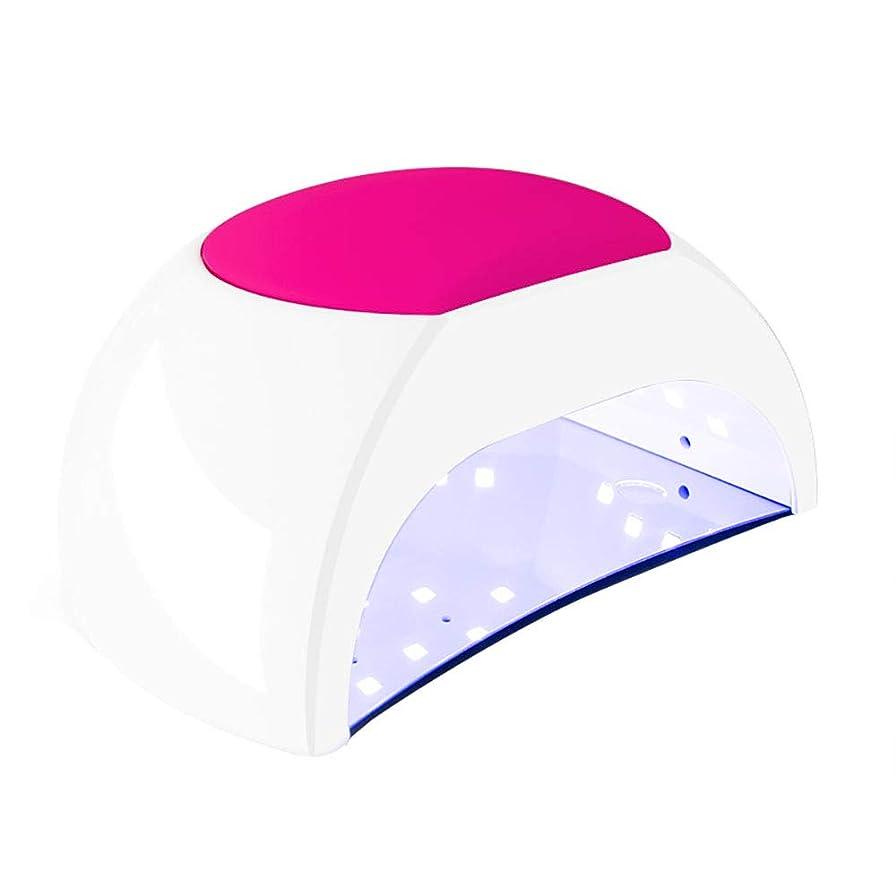 しつけ溶ける気がついて釘のドライヤー - 自動赤外線センサー、二重光源のLEDランプのゲルのドライヤーのマニキュアが付いている紫外線携帯用LEDの釘ランプ