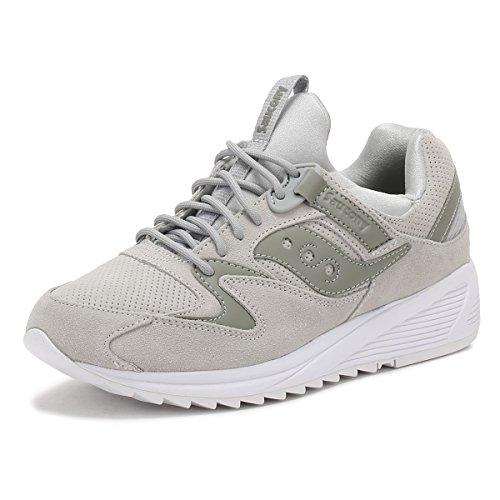 Saucony Herren Grau Grid 8500 HT Sneakers-UK 9