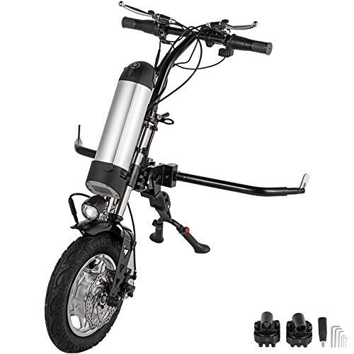 VEVOR Rollstuhl Elektrisch Aufsteckbar Elektrorollstuhl 36v 350W Reifen Faltbar Leicht Zubehör für Elektrorollstuhl