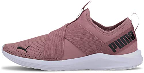 PUMA womens Prowl Walking Shoe, Foxglove-puma White, 8.5 US