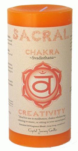 Sacral Chakra Candle