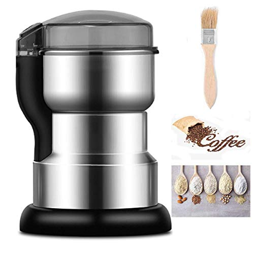 habing electric Spice and coffee Grinder,with 4 Stainless Steel Blades for household Dry Grinding...