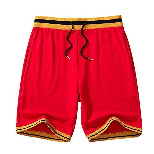 Preisvergleich Produktbild U / A Herren Retro-Sport-Shorts Basketballhose Sommer Casual Hose Gr. XL,  a