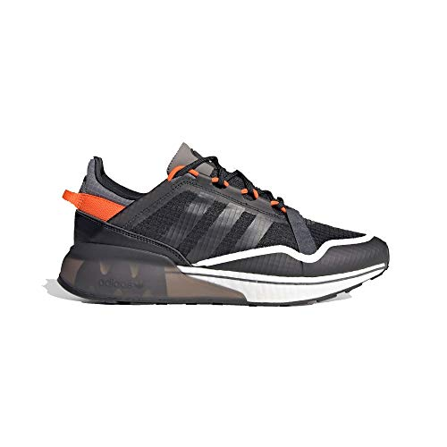 adidas ZX 2K Boost Pure Black/Orange Negro Size: 44 2/3 EU
