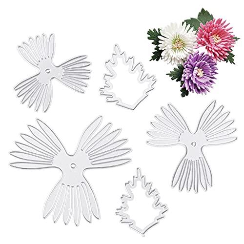 Fustelle in metallo a forma di fiore 3D, per decorazioni fai da te, per decorazioni fai da te, per feste, feste, inviti, biglietti da taglio per biglietti di auguri, scrapbooking, fai da te
