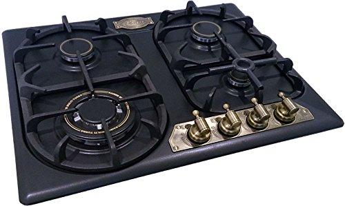 Kaiser Empire Plaque de cuisson à gaz avec plaque de cuisson en métal et plaque de cuisson à gaz ergonomique 60 cm