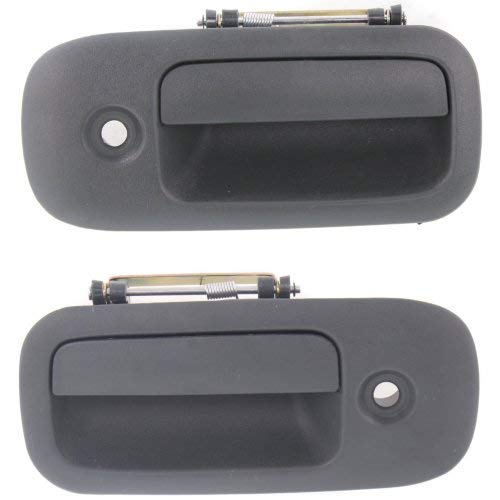 Exterior Door Handle for Express/Savana Van 96-02 Front Right and Left Side Outside Textured Black
