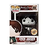 Gogowin Pop Animation : Attack on Titan - Eren Jaeger (2015SDCC Limited Edition) Gift Vinyl 3.7inch ...