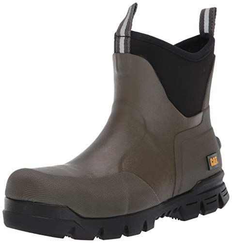 Caterpillar STORMERS 6' Steel Toe Industrial Boot Olive Night 10 M US