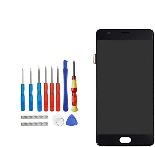 Upplus Pantalla LCD de repuesto compatible con OnePlus 3 3T A3000 A3010...