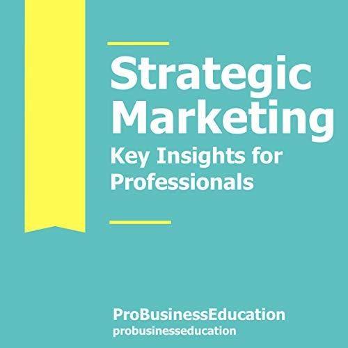 Strategic Marketing  By  cover art