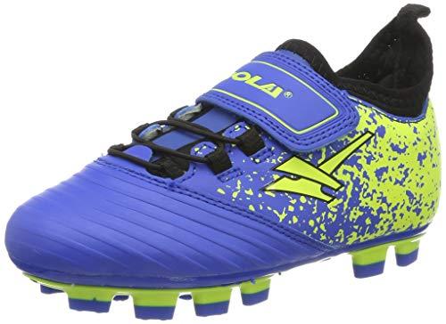 Boys Girls Gola Blade Football Boots Kids Astro Turf Studs Sports Trainers Blue, Black & Yellow UK 9   EU 27