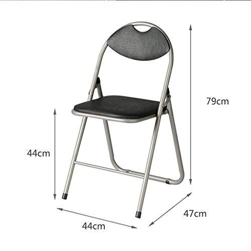 AXCJ Kleiner Sitz-moderner Stuhl-Klappstuhl-Sitzungs-Stuhl, der Stuhl-Schemel speist