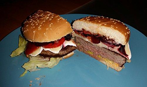 Belmalia Presse Burger 100 Feuilles de Papier Cuisson pour Parfaits Burgers, Hamburgers, Cheeseburgers, Fricadelles, Boulettes de Viande, Poêle, Barbecue, Anti-adhésif, 11cm
