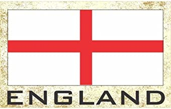 Flag Fridge Refrigerator Magnets - Europe Grp 1 (1-Pack, Country: England)