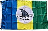 Mountfly JIMMY BUFFETT WELCOME TO FINLAND Landshark Margaritaville Fins Up Boat FLAG Banner 3X5 Feet