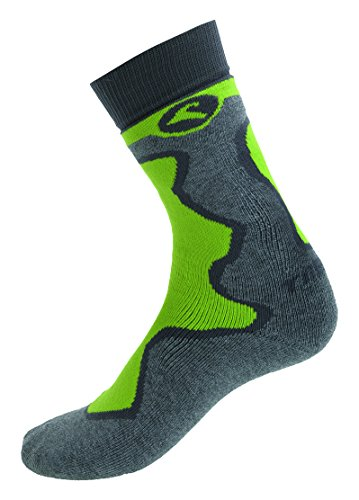 Boreal trekids Therm – Chaussettes Unisexe, Vert, Taille S