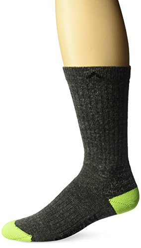 Wigwam Men's Tradesman INgenius Lightweight Work Socks, charcoal, X-Large