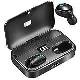 Bluetooth Kopfhörer,Wireless Kopfhörer In Ear Ohrhörer Bluetooth 5.0 Headset LCD Digitalanzeige...