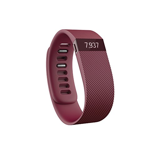 Fitbit Charge Wireless Activity Tracker and Sleep Wristband Small - Burgundy