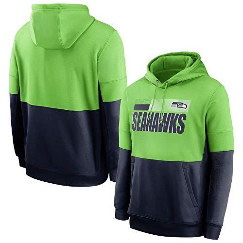 HS-XP Los Hombres De Seattle Seahawks De La NFL con Capucha,...