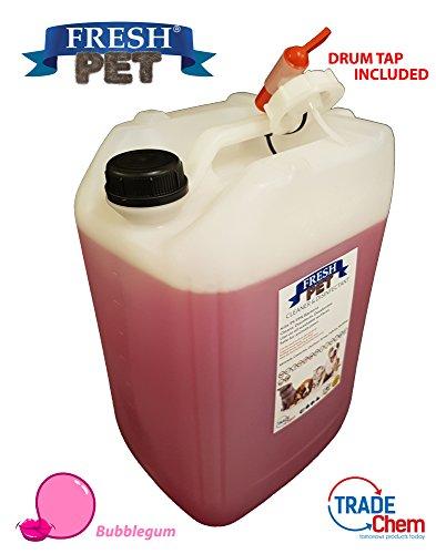 Desinfectante, limpiador, ambientador (chicle) fresco para perros, mascotas, perrera, 20 L