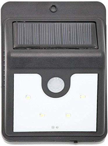 Meixian Waterdichte wandlamp, ledlamp op zonne-energie, voor in het park, tuin, gang, wandlamp, eenvoudig retro