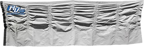 RV WindSkirt 48 inches by 120 inches Silver Skirt Panel