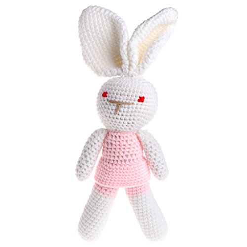 A0127 Neugeborenes Baby Boy Knit h?keln Kaninchen Spielzeug Fotografie Prop Outfit Puppe Geschenke