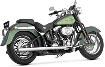 Vance & Hines 97-11 Harley FLSTC Softail Duals Exhaust (Chrome)