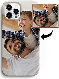 Estuche Suave de Gel TPU Transparente de Regalo Carcasa vinil. Funda iPhone 12 Pro MAX Personalizada con tu Foto Pegatina Protector con tu Foto