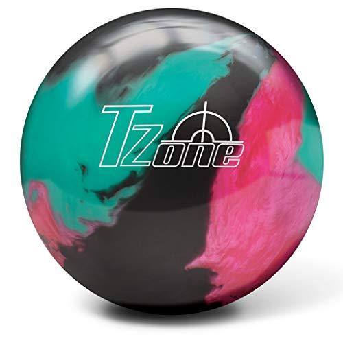 Brunswick Bowling Products Unisexs Brunswick T Zone Glow Bowling Ball Razzle Dazzle 13lbs 13