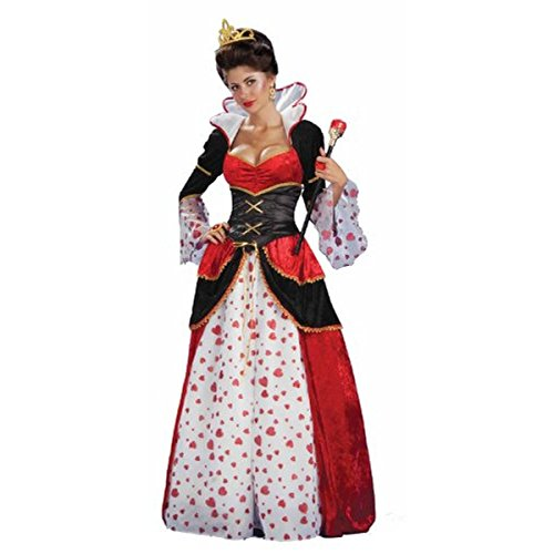 Forum Alice in Wonderland Queen of Hearts Costume -, Multi-colored, Size X-Large