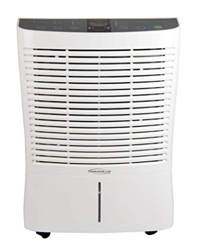 Soleus Air White 95-Pint Portable Dehumidifier with Internal Pump
