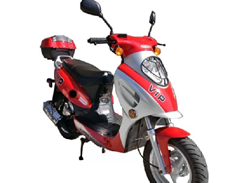 TaoTao CY50-A Gas Street Legal Scooter - Red